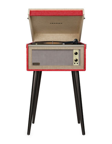 Crosley Bermuda Two-Speed Turntable-RED-One Size