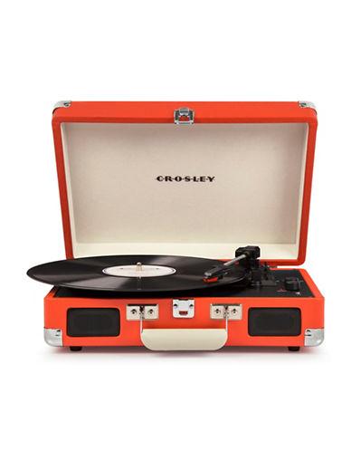 Crosley Cruiser Deluxe Vinyl Turntable-ORANGE-One Size