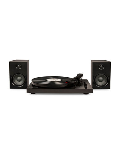 Crosley T100 Component Turntable-BLACK-One Size