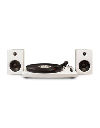 Crosley T100 Component Turntable-WHITE-One Size