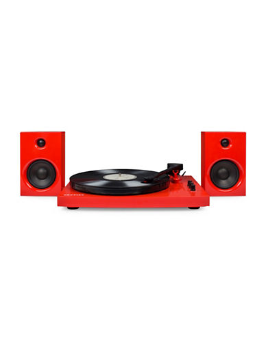 Crosley T100 Component Turntable-RED-One Size