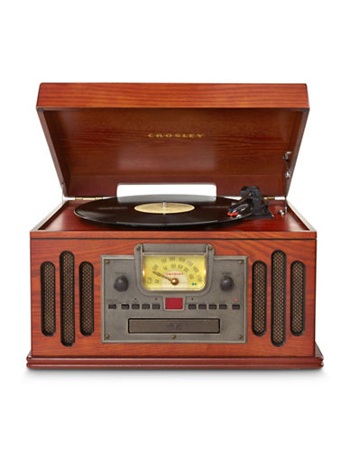 Crosley Musician Entertainment Wooden Turntable-BLACK-One Size