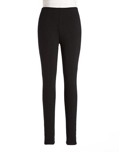 Style And Co. Petite Full Length Leggings-BLACK-Petite X-Small