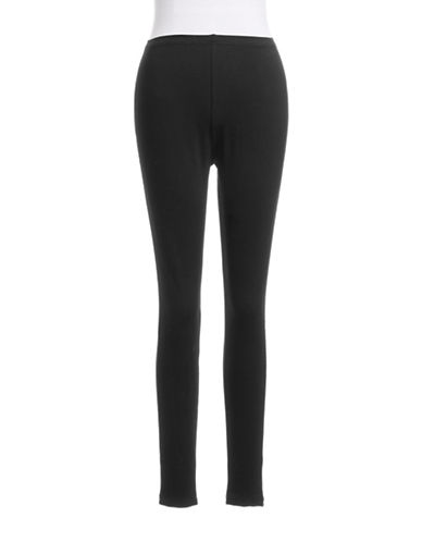 Style And Co. Petite Full Length Leggings-DARK GREY-Petite Small
