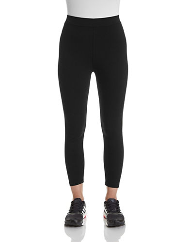 Style And Co. Capri Leggings-BLACK-Medium 87404765_BLACK_Medium