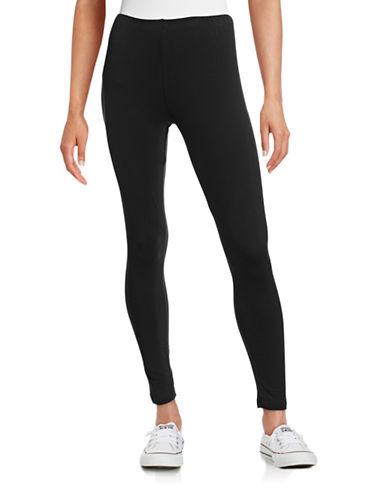 Style And Co. Basic Leggings-BLACK-Medium 88665366_BLACK_Medium