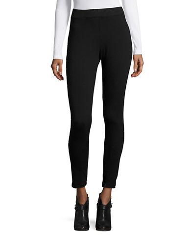 Style And Co. Studded Leggings-BLACK-Medium 88880585_BLACK_Medium