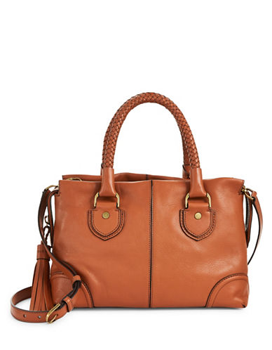 Cole Haan Multi-Compartment Satchel-BROWN-One Size