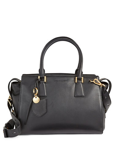 Cole Haan Large Classic Satchel-BLACK-One Size