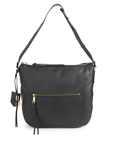 Cole Haan Marlie Bucket Hobo Bag-BLACK-One Size