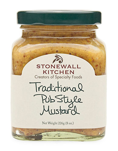 Stonewall Kitchen Traditional Pub Style Mustard-NO COLOUR-One Size