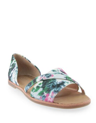Franco Sarto Voila Two-Piece Floral Sandals-FLORAL-11