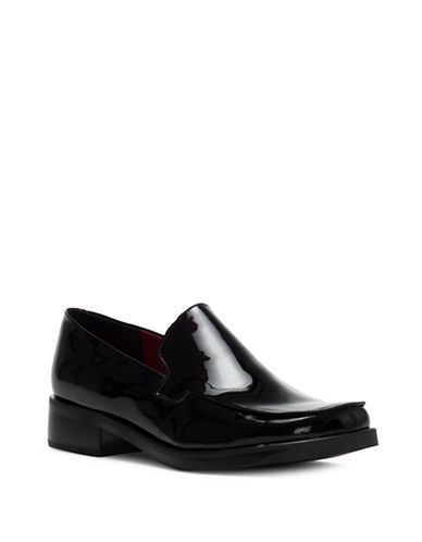 Franco Sarto Bocca Patent Leather Loafer-BLACK PATENT-5