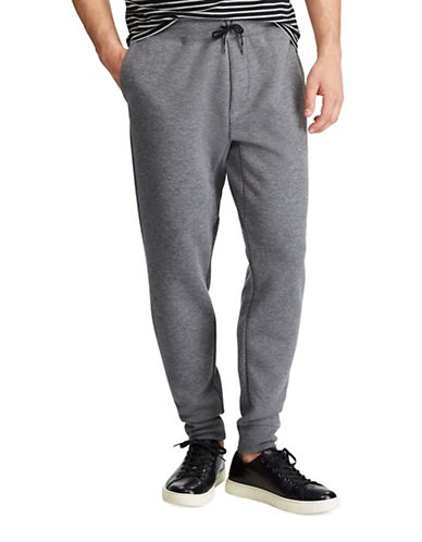 Polo Ralph Lauren Double Knit Tech Jogger Pants-GREY-X-Large