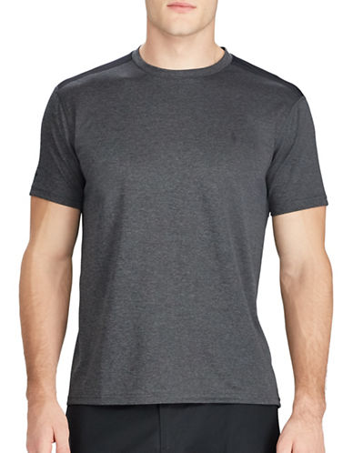 Polo Ralph Lauren Active-Fit Performance Tee-GREY-X-Large