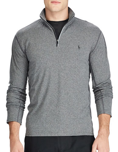Polo Ralph Lauren Stretch Jersey Pullover-FOSTER GREY-X-Large