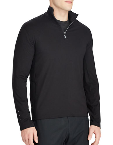 Polo Ralph Lauren Stretch Jersey Pullover-POLO BLACK-Small