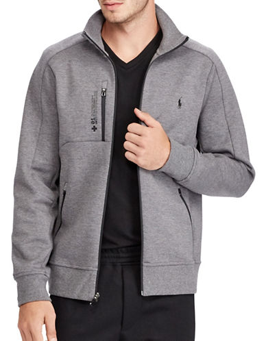 Polo Ralph Lauren Double Knit Tech Track Jacket-GREY-X-Large 89451083_GREY_X-Large