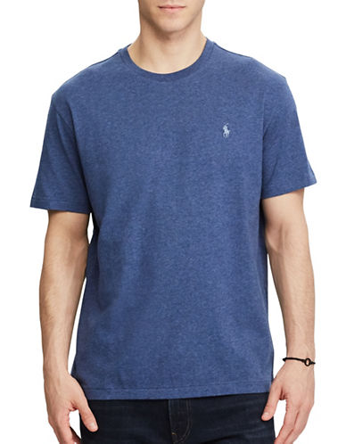 Polo Ralph Lauren Custom Slim-Fit Cotton Tee-RUSTIC NAVY-X-Large