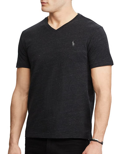 Polo Ralph Lauren Classic-Fit Cotton Tee-BLACK-X-Large 89320522_BLACK_X-Large