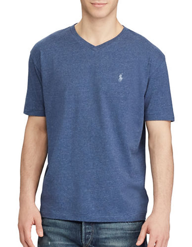 Polo Ralph Lauren Classic-Fit Cotton Tee-BLUE-XX-Large