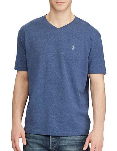 Polo Ralph Lauren Classic-Fit Cotton Tee-BLUE-Large