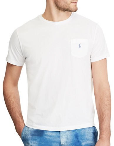 Polo Ralph Lauren Classic Fit Cotton T-Shirt-WHITE-X-Large