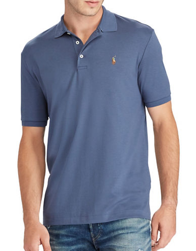 Polo Ralph Lauren Classic Fit Soft-Touch Cotton Polo-SAILFISH BLUE-Large