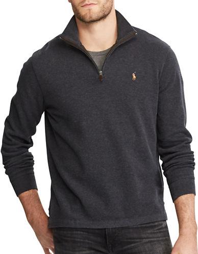 Polo Ralph Lauren Estate-Rib Cotton Pullover-GREY-Large 89604396_GREY_Large