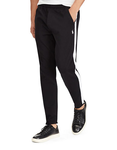 Polo Ralph Lauren Knit Cotton Track Pants-BLACK-XX-Large