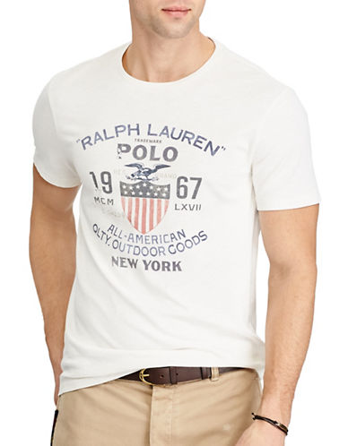 Polo Ralph Lauren Custom Slim Fit Cotton T-Shirt-NEVIS-X-Large