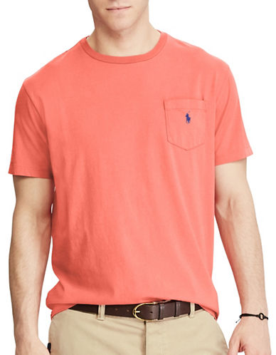Polo Ralph Lauren Classic-Fit Jersey Tee-RED-Large Tall