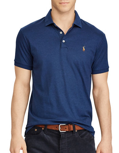 Polo Ralph Lauren Classic Fit Soft-Touch Polo-BLUE-5X Big