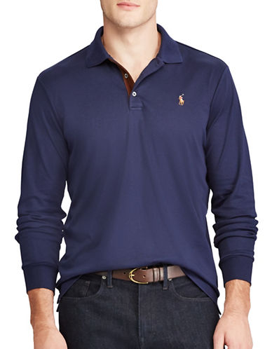 Polo Ralph Lauren Classic Fit Soft-Touch Polo-BLUE-3X Tall