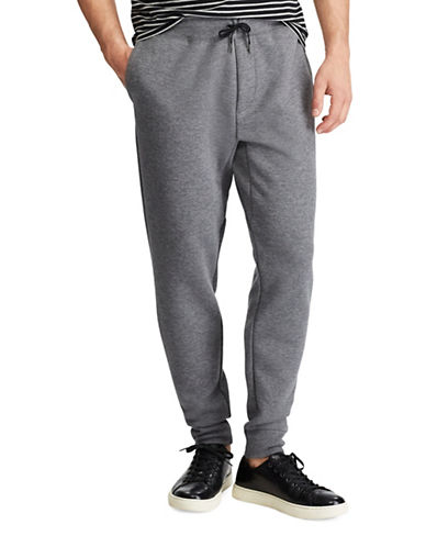 Polo Ralph Lauren Big and Tall Double-Knit Jogger-GREY-2X Tall