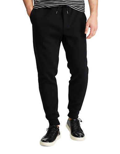 Polo Ralph Lauren Big and Tall Double-Knit Jogger-BLACK-2X Tall
