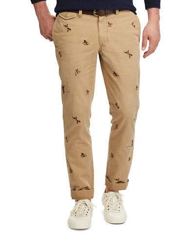 Polo Ralph Lauren Slim-Fit Cotton Chino Pants-BEIGE-38X30