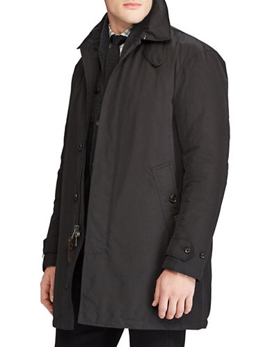 Polo Ralph Lauren Commuter Coat-BLACK-XX-Large