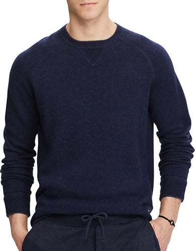Polo Ralph Lauren Knitted Merino Wool Sweater-MEDIEVAL BLUE-Small