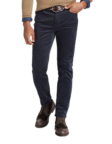 Polo Ralph Lauren Varick Slim Straight Pants-BLUE-34X32