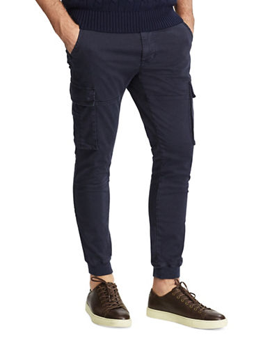 Polo Ralph Lauren Slim-Fit Modern Cargo Pants-NAVY-40X32