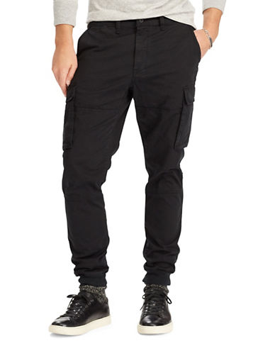 Polo Ralph Lauren Slim-Fit Cargo Pants-POLO BLACK-36X30