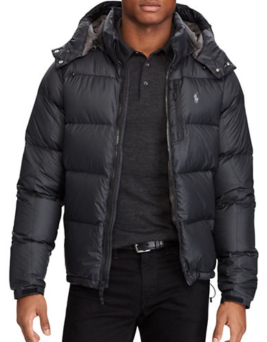 Polo Ralph Lauren Ripstop-El Cap Down-Filled Jacket-BLACK-XX-Large