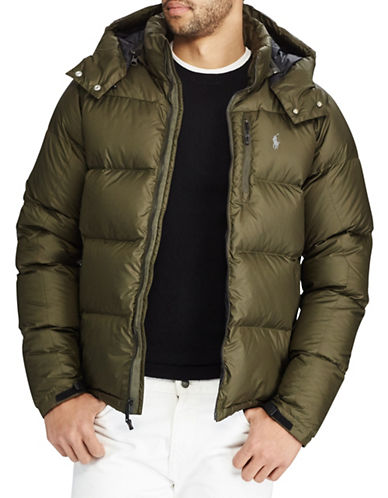 Polo Ralph Lauren Quilted Ripstop Down-Filled Jacket-GREEN-Large