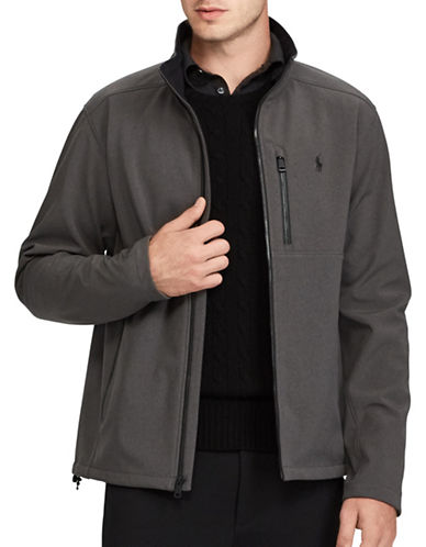 Polo Ralph Lauren Water-Repellent Jacket-GREY-Large