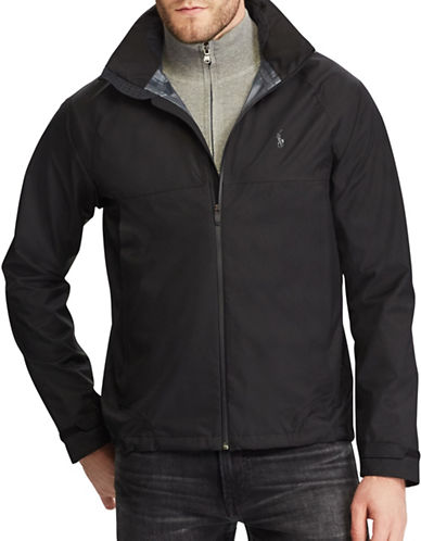Polo Ralph Lauren 2.5 Ripstop Waterproof Jacket-BLACK-Small