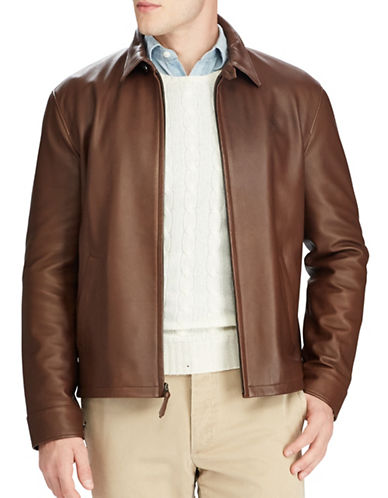 Polo Ralph Lauren Maxwell Jacket-BROWN-Medium 89451298_BROWN_Medium