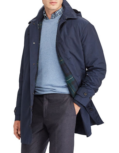 Polo Ralph Lauren 3-in-1 Down Commuter Coat-BLUE-Large
