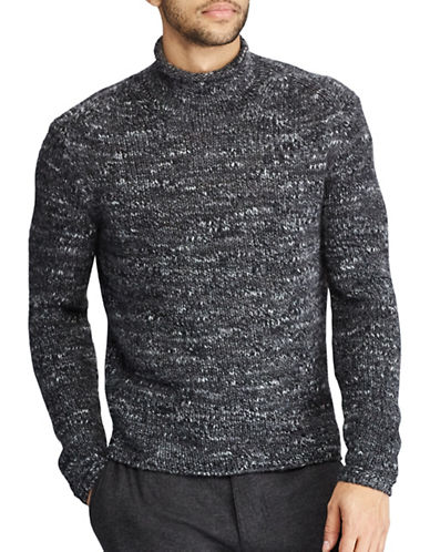 Polo Ralph Lauren The Iconic Rollneck Sweater-GREY-Medium