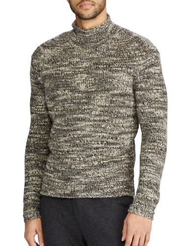 Polo Ralph Lauren The Iconic Rollneck-GREY-X-Large